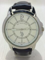 クォーツ腕時計/アナログ/3針/ラウンド