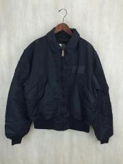 フライトジャケット/XL/ナイロン/BLK