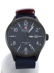 694266dc78 クォーツ腕時計/アナログ/ナイロン/NVY/NVY/中古/スイスミリタリーウォッチ. ¥7,452. SWISS MILITARY WATCH