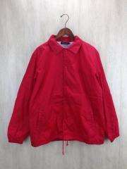 17SS/コラージュコーチジャケット/L/ナイロン/RED