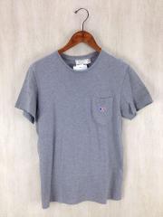Tシャツ/XS/コットン/GRY