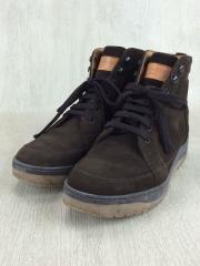 ブーツ/26.5cm/BRW/スウェード
