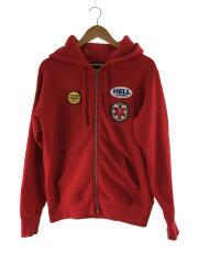 17AW/HYSTERIC GLAMOUR Patches Zip Up Sweatshirt/ジップパーカー/S