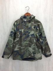 ジャケット/L/ナイロン/KHK/カモフラ/ザノースフェイス/スクープジャケット
