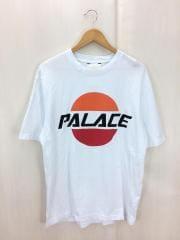 17SS/PAL SOL/Tシャツ/L/コットン/WHT/プリント