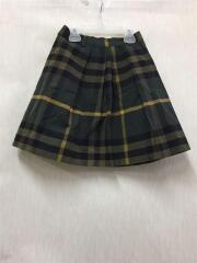 スカート/150cm/コットン/GRN/チェック