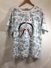 アベイシングエイプ/Tシャツ/XXL/コットン/WHT/カモフラ