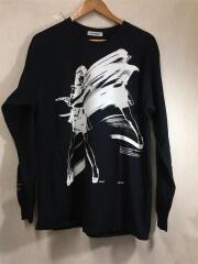 フラグスタフ/Dream and reality L/S TEE/長袖Tシャツ/L/コットン/BLK