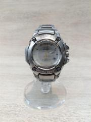 クォーツ腕時計/G-SHOCK/アナログ/SLV