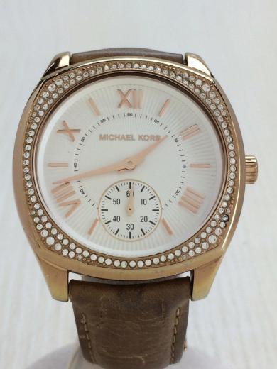 5c0f3cda69f6 MICHAEL KORS(マイケルコース) / クォーツ腕時計/アナログ/レザー ...
