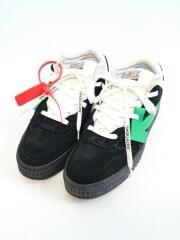 Arrows logo mid-top sneakers/箱付/ローカットスニーカー/42/BLK/牛革