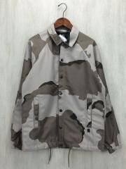 ジャケット/XS/ナイロン/BRW/カモフラ