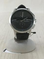 OR-0014N/クォーツ腕時計/アナログ/ラバー/風防キズ有