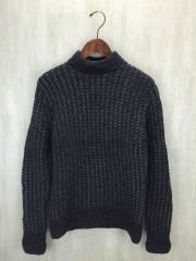 セーター(厚手)/36/ウール/GRY