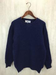 セーター/38/ウール/NVY
