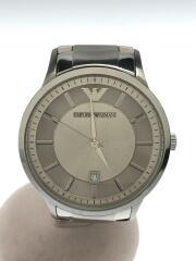 クォーツ腕時計/アナログ/ステンレス/SLV/AR-2478/エンポリオアルマーニ