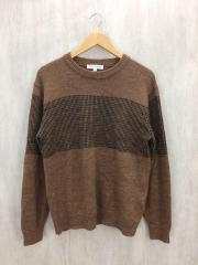 セーター(厚手)/L/ウール/BRW
