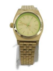 クォーツ腕時計/アナログ/ステンレス/GLD/GLD