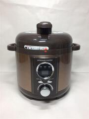 電気調理鍋 LPC-T12/電気圧力鍋/ブラウン/