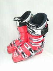 スキーブーツ/26cm/RED/アダルト/POWER MAX 100/スキー