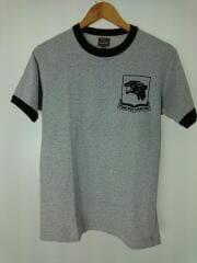 Tシャツ/半袖カットソー/36/コットン/GRY/グレー