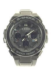 CASIO/クォーツ腕時計/デジアナ/ラバー/BLK/G-SHOCK/GST-W100G