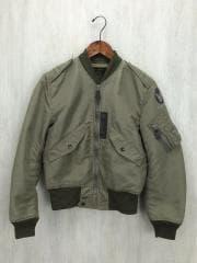 TYPE L-2/MIL-J-5391/フライトジャケット/S/ポリエステル/KHK