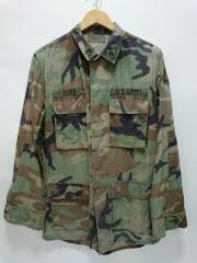 90s/BDUジャケット/長袖シャツ/S/--/KHK/カモフラ