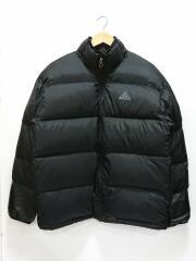 ダウンジャケット/F6-03-10-YNG/L/ナイロン/BLK/ブラック/無地
