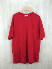 Tシャツ/--/コットン/RED