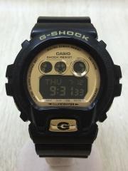 クォーツ腕時計・G-SHOCK/デジタル/BLK