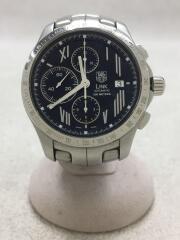 TAGHeuer タグホイヤー/自動巻腕時計/アナログ/ステンレス/BLK/SLV