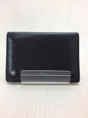 カードケース/レザー/BLK/無地/151110