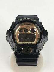 クォーツ腕時計・G-SHOCK/デジタル/ラバー/GLD/BLK