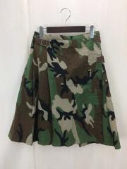 スカート/1/コットン/GRN/カモフラ