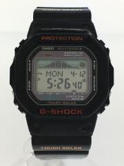 ソーラー腕時計/デジタル/BLK/BLK/GWX-5600/カシオ