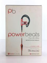 イヤホン/耳かけ型/powerbeats/MONSTER/ビーツバイドクタードレ/RED