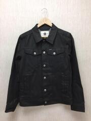 3301-R ANN 3D SLIM JKT/Gジャン/S/コットン/BLK/無地/D11906-7101-001