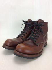 ベックマン/ブーツ/26cm/BRW/レザー/9016