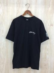 Tシャツ/M/コットン/BLK