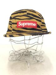19AW Wool Camp Cap Tiger Stripe/--/ウール/キャメル/アニマル/レオパレード
