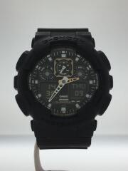 腕時計/デジアナ/BLK/BLK