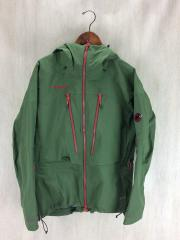 GORE-TEX GLACIER Jacket/マウンテンパーカ/M/ナイロン/KHK