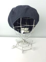 ベレー帽/--/リネン/NVY