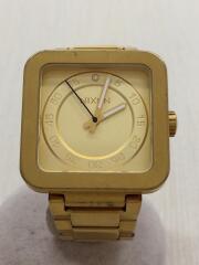 ニクソン/クォーツ腕時計/アナログ/ステンレス/GLD/GLD