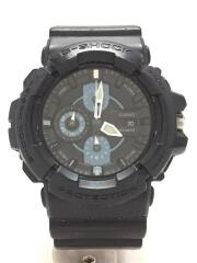 カシオ/クォーツ腕時計・G-SHOCK/アナログ/BLK/GAC-100-1A2JF