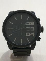 ディーゼル/クォーツ腕時計/アナログ/ステンレス/BLK/DZ-4207
