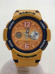 カシオ/クォーツ腕時計・Baby-G/デジアナ/ORN/BGA-210-4BJF