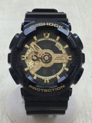 G-SHOCK/クォーツ腕時計/デジアナ/BLK/GA-110GB