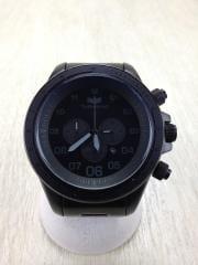腕時計/アナログ/--/NVY/BLK